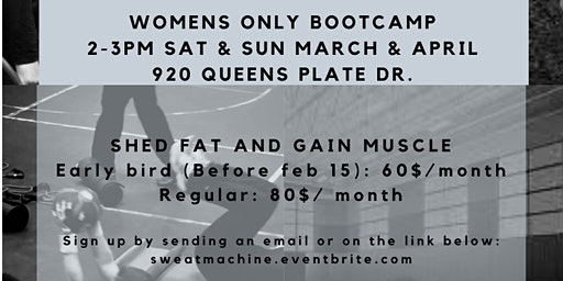 Sweat Machine! WOMEN'S ONLY BOOT CAMP
