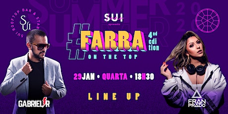 Farra On The Top ingressos