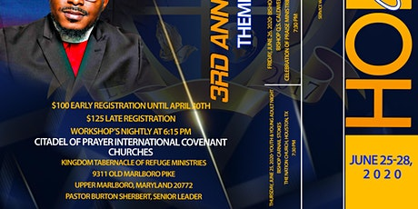 3rd International Holy Convocation 2020 tickets