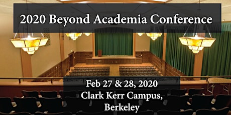 2020 Beyond Academia Conference tickets