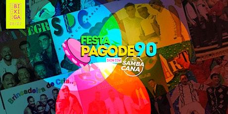 08/02 - FESTA | PAGODE 90 NO ESTÚDIO BIXIGA ingressos