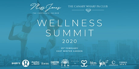 Wellness Summit 2020 tickets