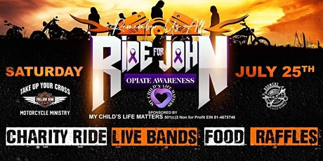 4th Annual Ride for John (Charity Ride) tickets