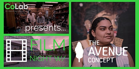 CoLab Presents: Film Night with The Avenue Concept tickets