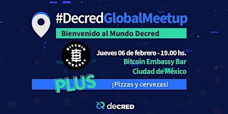 #DecredGlobalMeetup Ciudad de México en Bitcoin Embassy Bar boletos