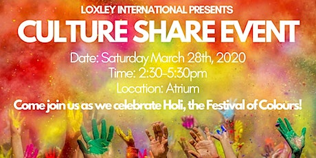 Culture Share Event  tickets