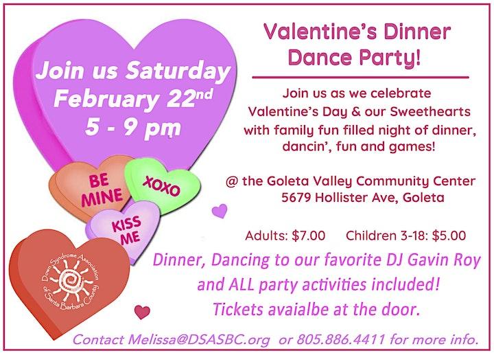 Valentine's Dinner Dance Party image