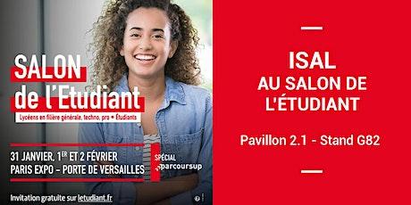 ISAL au Salon de l'Etudiant de Paris tickets