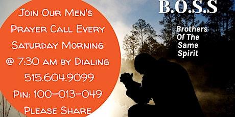 Men's Prayer Call tickets
