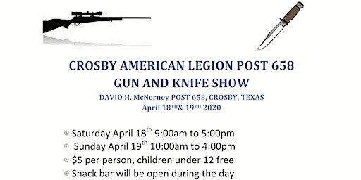 Crosby American Legion Gun & Knife Show