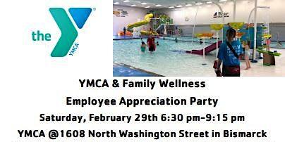 YMCA/Family Wellness Employee Appreciation Party