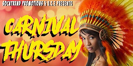 Carnival Thursday Warm Up (Oct 8) tickets