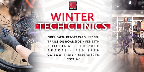 Calgary Cycle Winter Workshops tickets