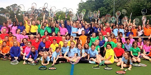 Girls' Tennis Camp, 9-18 yrs, 09:45-12:00 each day, Mon 6th - Wed 8th April