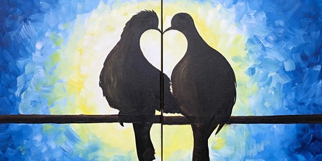 Give the gift of art! 'Love on a Wire' Paint and Sip class. tickets