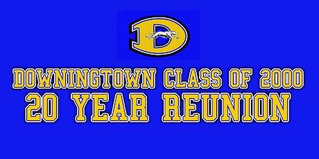 Downingtown Sr. High Class of 2000 / 20 Year Reunion  tickets