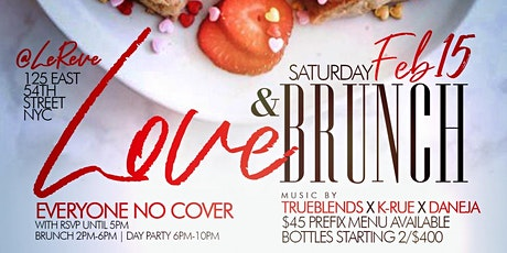 TDE - BRUNCH N CHILL - BRUNCH / DAY PARTY / HOOKAH AT LE REVE tickets