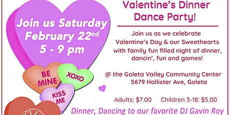 Valentine's Dinner Dance Party tickets