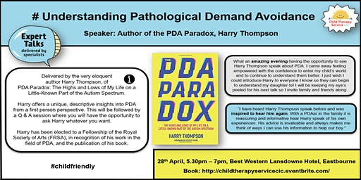 Undestanding PDA - With Harry Thompson #PDAParadox