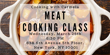 Meat Cooking Class tickets