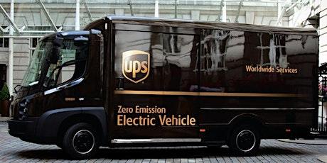 LowCVP Workshop - UPS Depot and Fleet Electrification tickets
