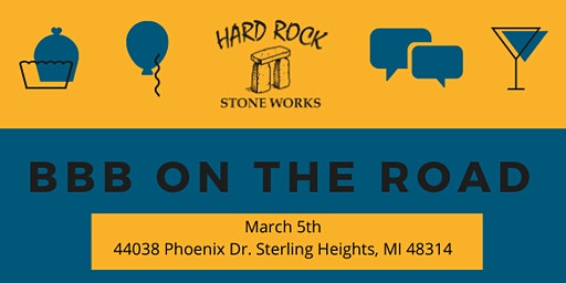 BBB On The Road- Hard Rock Stone Works