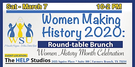 Women Making History: Round Table Brunch  tickets
