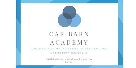 Car Barn Academy - Introduction to Customizing Google Analytics Reports tickets