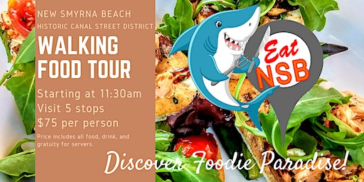 Walking Food Tour Eat NSB Canal St 5 Stop Restaurant Discovery Experience
