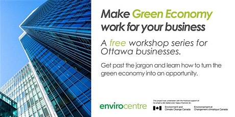 Make Green Economy Work for Your Business - Ottawa City Hall tickets