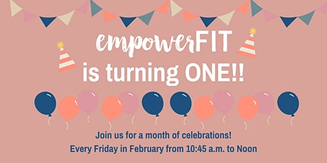 Empowerfit 1st Birthday Celebration - Cake Smash Event tickets