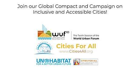 Cities4All Partner's Reception & Exhibit on Inclusive and Accessible Cities tickets