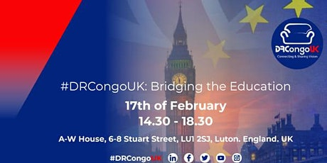 #DRCongoUK: Diaspora Bridging the Education tickets