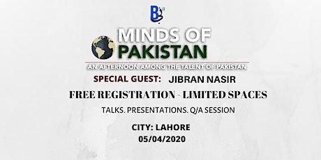 Minds of Pakistan tickets