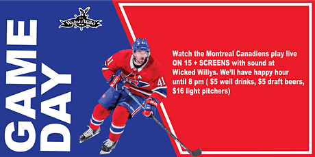Montreal Canadiens Games Watch Party!! tickets