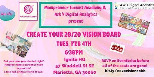 Create Your 20/20 Vision Board - Cobb/Fulton