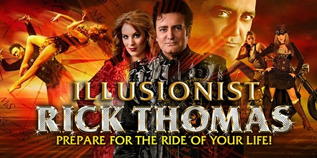 Illusionist Rick Thomas at Maryland Hall tickets