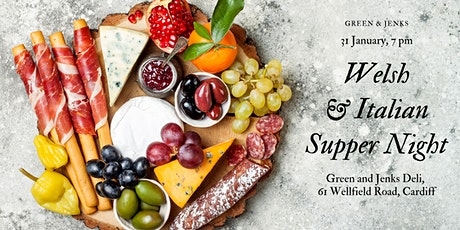 Welsh and Italian Supper Night tickets