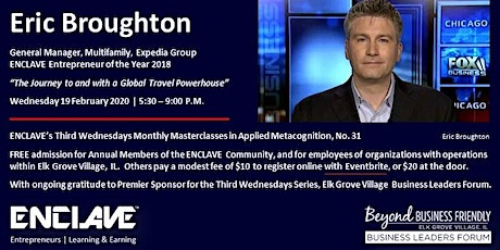 Eric Broughton's Journey to and with the Global Travel Powerhouse — Expedia tickets