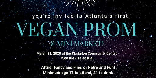 Atlanta Vegan Prom 2020