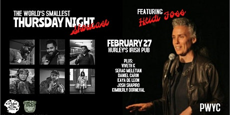 The World's Smallest Thursday Night Showcase with HEIDI FOSS! tickets