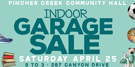 Indoor Garage Sale tickets