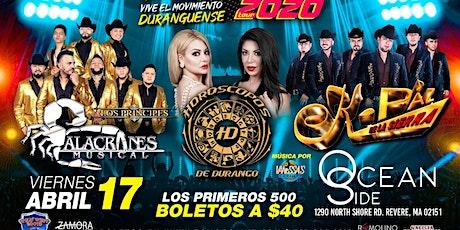 Horoscopos de Durango/Alacranes & Kpaz tickets
