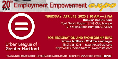 Urban League of Greater Hartford 20th Annual Employment Empowerment Expo tickets