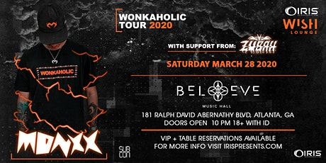 Monxx - Wonkaholic Tour| Wish Lounge @ IRIS | Saturday March 28 tickets
