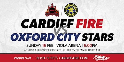 Cardiff Fire vs Oxford City Stars