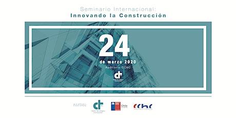 Seminario Internacional: Innovando la Construcción 2020 entradas