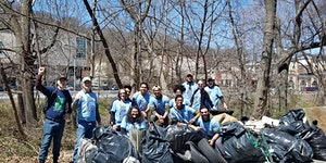 Great Saw Mill River Cleanup 2020: Lawrence Street,...