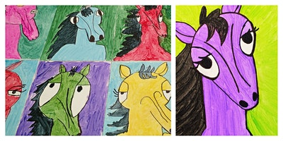 How to Draw and Paint a Pony Workshop (5-12 Years)