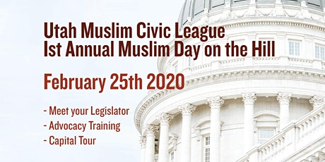 1st Annual Muslim Day On The Hill tickets